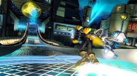 Skjermbilde fra Ratchet & Clank: A Crack in Time.