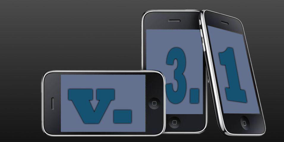 Iphone OS 3.1 er ute