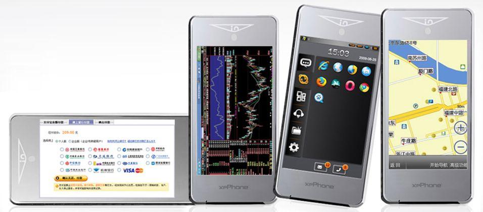 XP-mobilen.