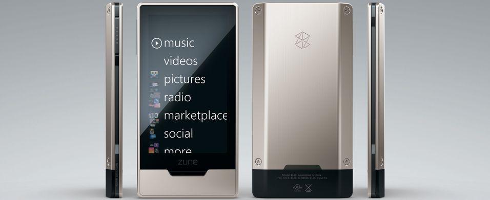 Microsoft Zune HD kommer ikke til Europa enda