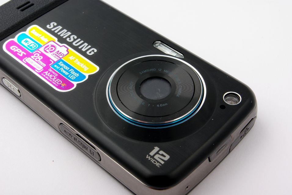 Med 12 megapikslers kamera, er det ikke størrelsen på fotografiene det skal stå på.