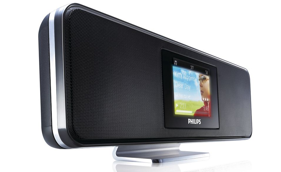 Philips Streamium NP2900: Internett-radio møter stilig design