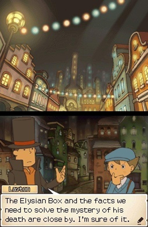 Spillet er fullt av mysterier og har en velskrevet historie.