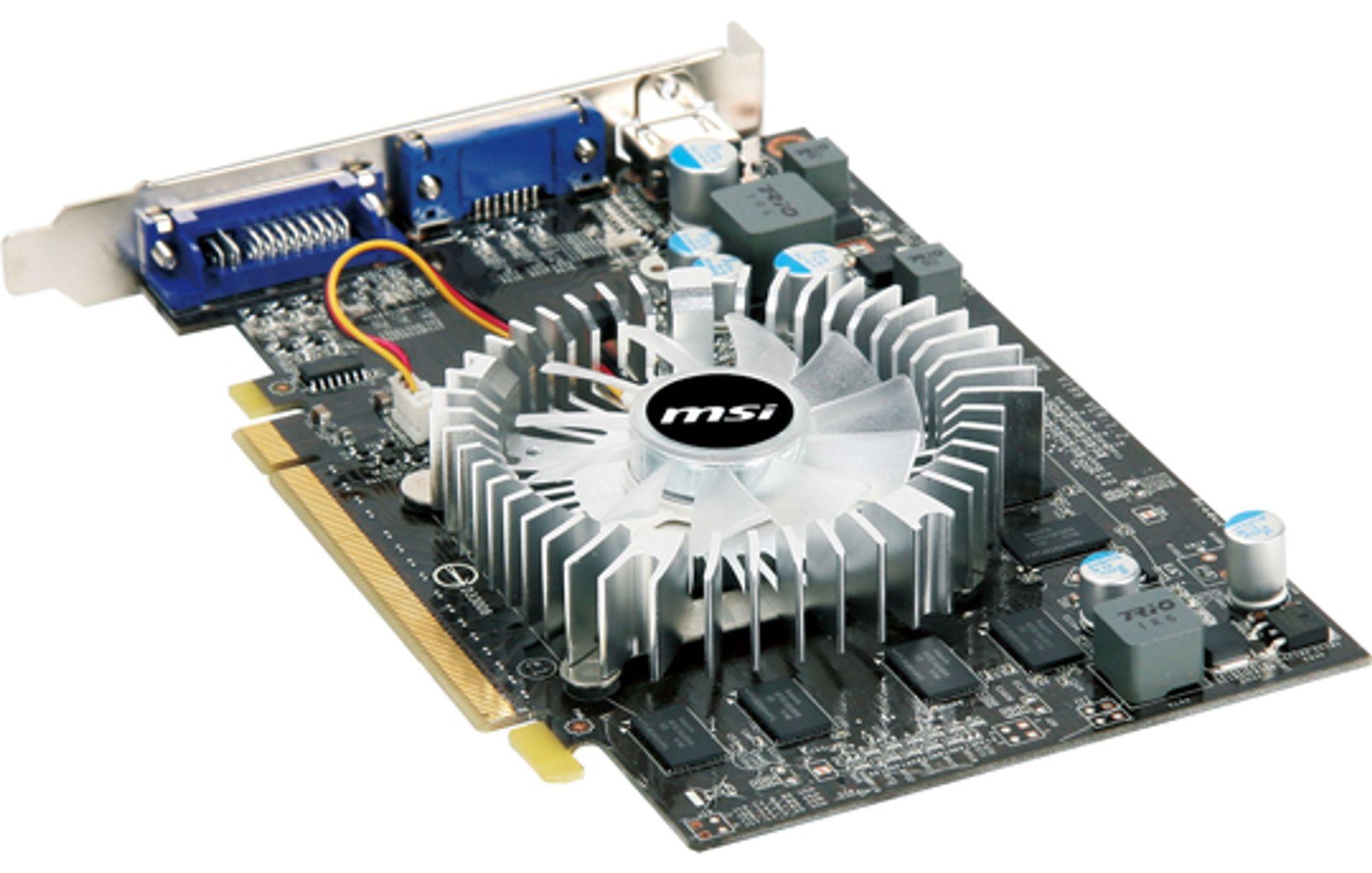 Geforce GT 220 fra MSI