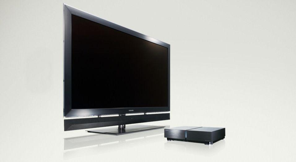 Toshiba Regza 55X1: Første TV med Cell-prosessor