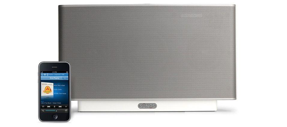 Sonos Zoneplayer S5: Kompakt alt-i-ett-anlegg du styrer via Iphone/Ipod