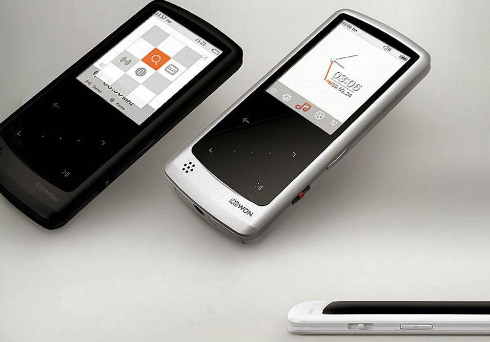 Cowon Iaudio I9 :Bred formatstøtte og TV-utgang