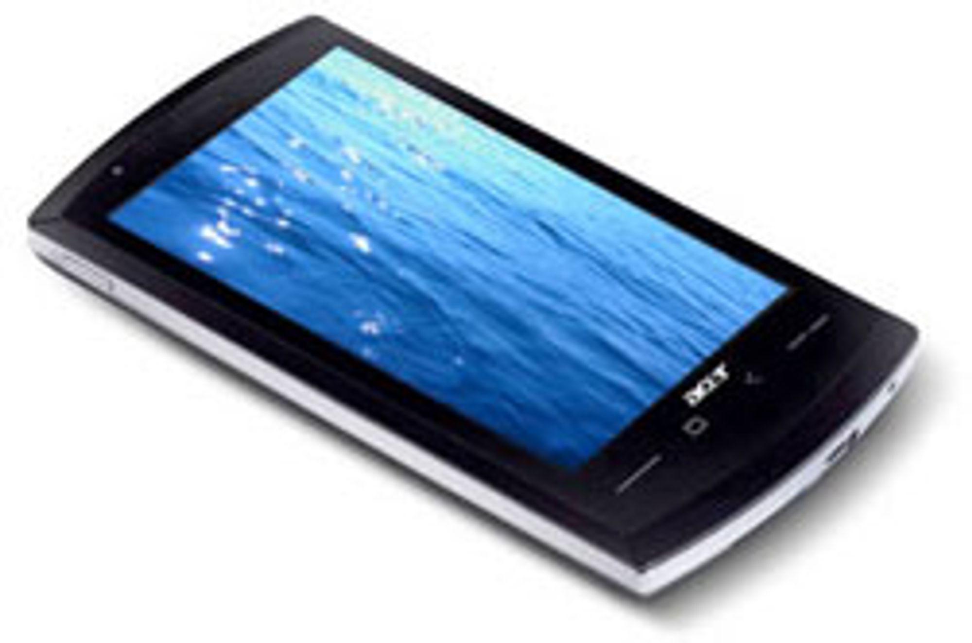 Acer Liquid. (Foto: Mobilecrunch)