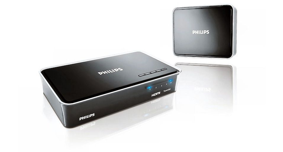 Erstatter HDMI-kabelen: Philips Wireless HDTV Link
