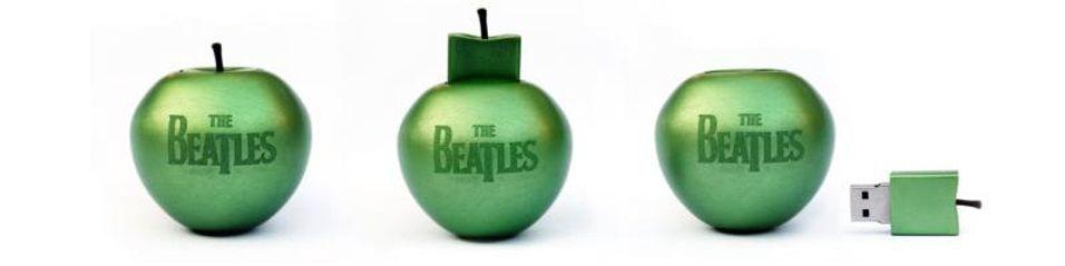 For Beatles-fans: Denne 16 GB eple-minnepinnen er full av Beatles-materiale