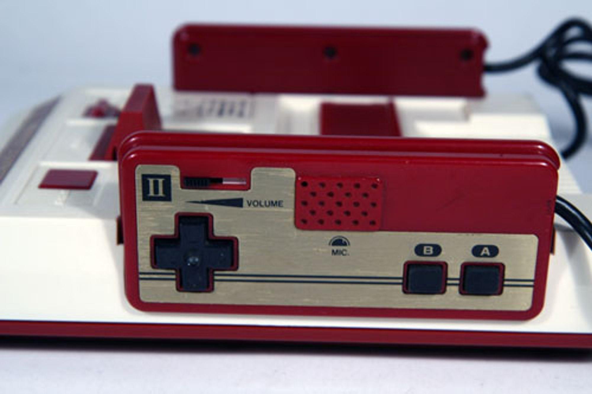 Nintendos Famicom. Foto: Kris Vanderweit, Wikimedia Commons
