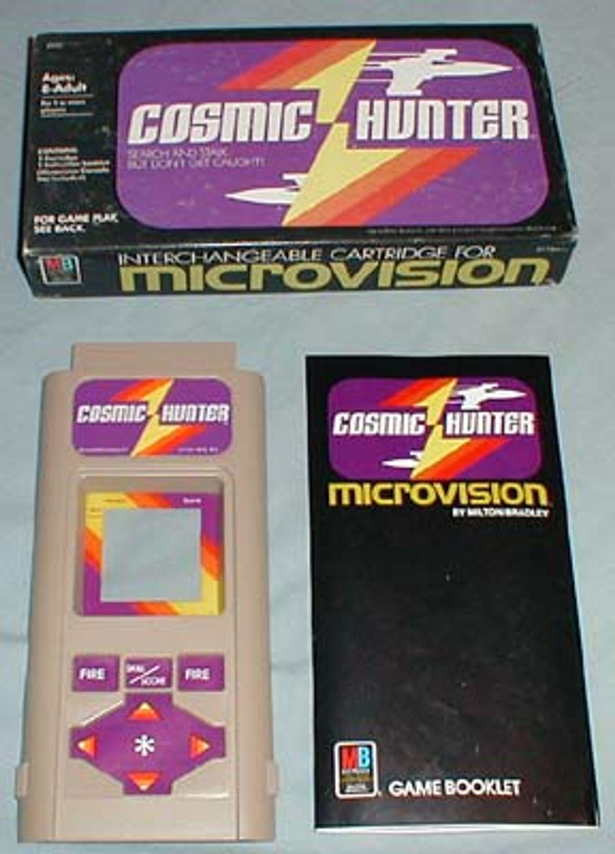 Cosmic Hunter til Microvision. Foto: handheldmuseum.com
