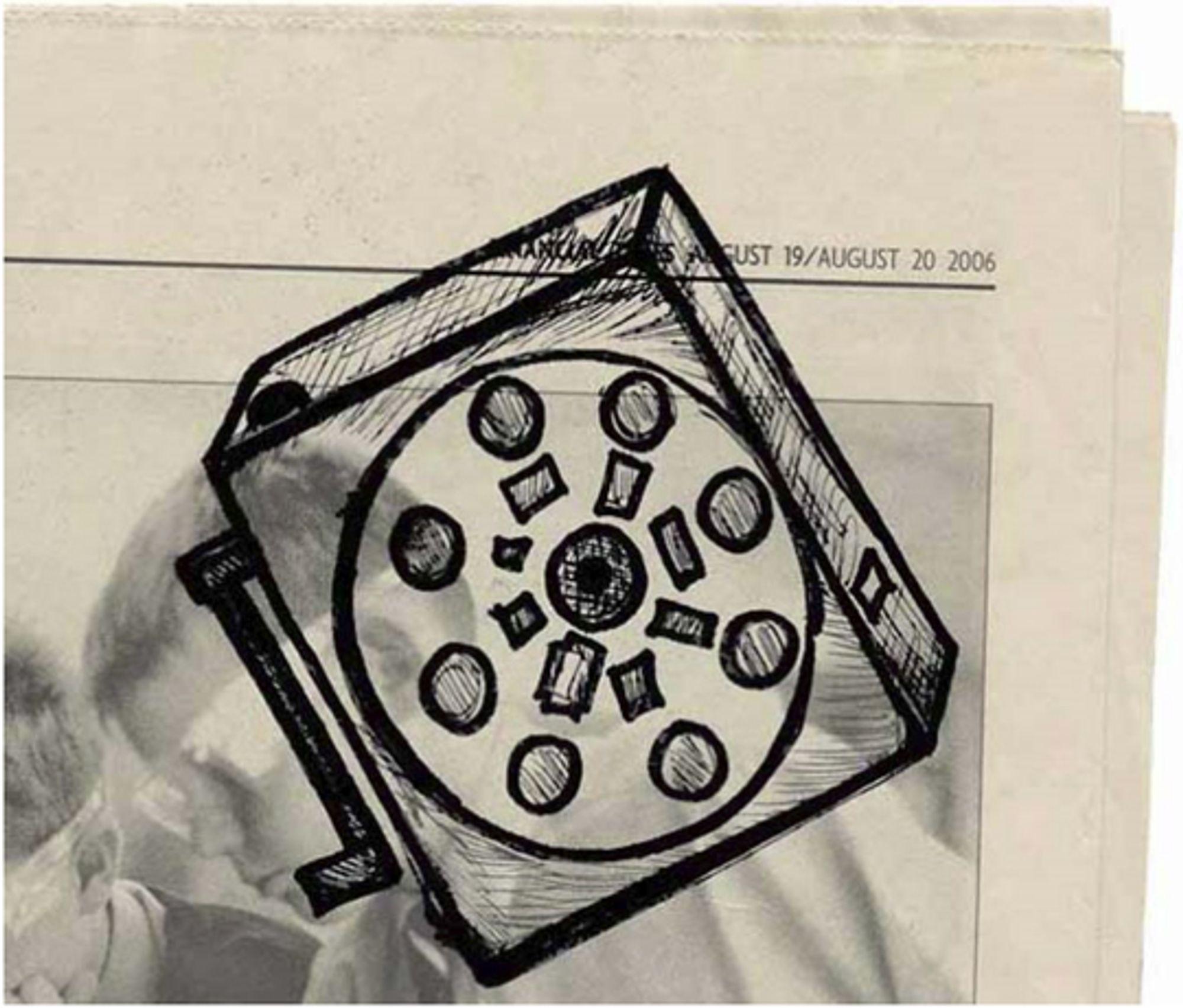Første skisse av Bigshot-idéen