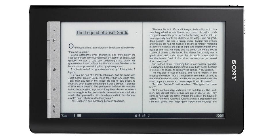 Sony Reader Daily Edition: Får 3G-støtte for direkte nedlasting av e-bøker