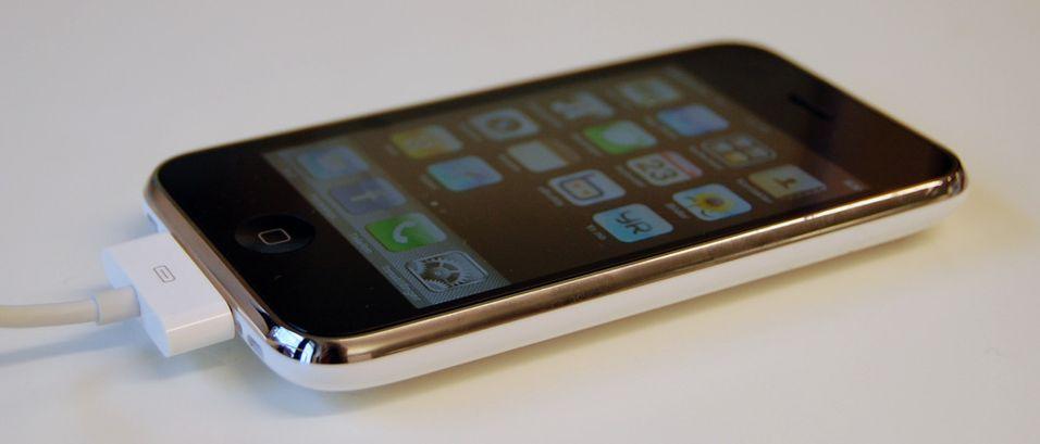 Iphone fikk den gjeveste prisen.