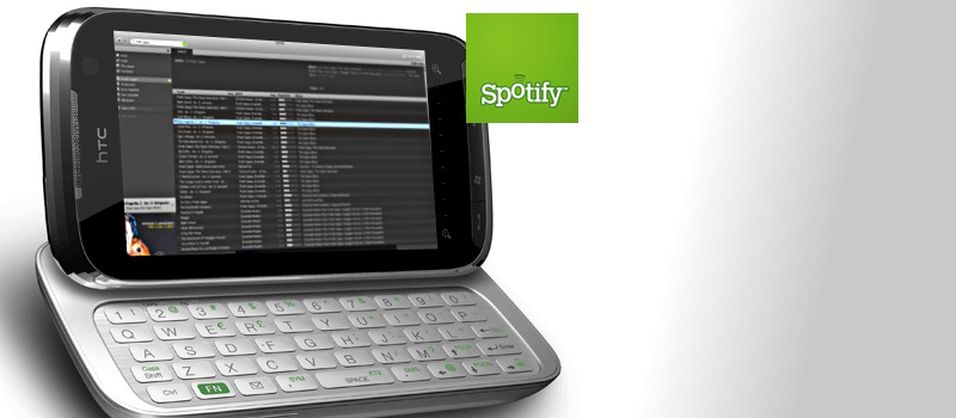 Spotify til Windows Mobile