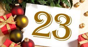 Julekalender 2010 – 23. desember