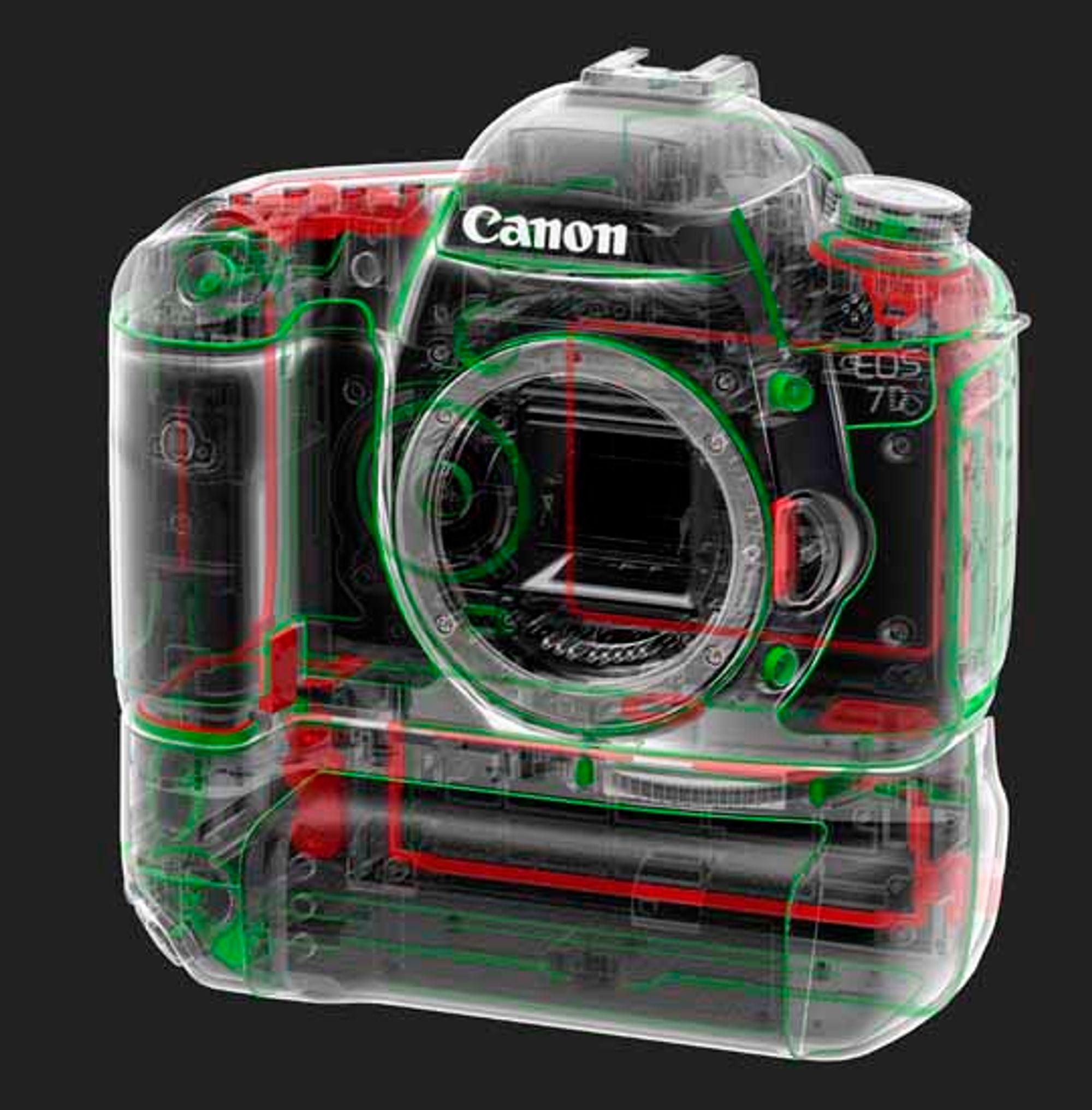 Tetninger i Canon EOS 7D