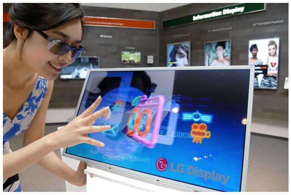 LGs full-HD 3D-skjerm er verdens første i sitt slag (foto: LG)