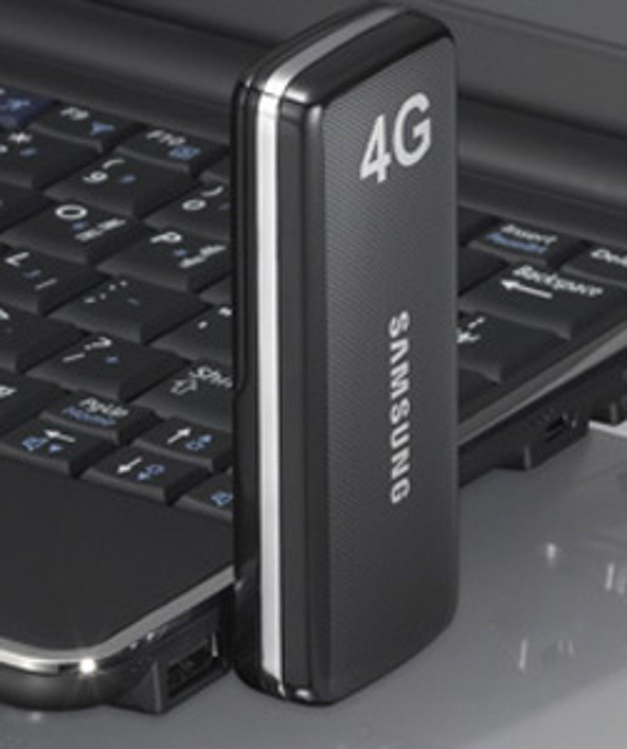 Slik ser Samsungs nye 4G-modem ut.