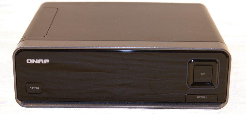 Qnap NMP-1000: Mediaspiller og NAS i en og samme boks