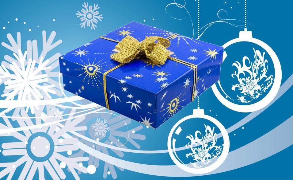Årets siste julenøtt! I denne pakken skjuler det seg en