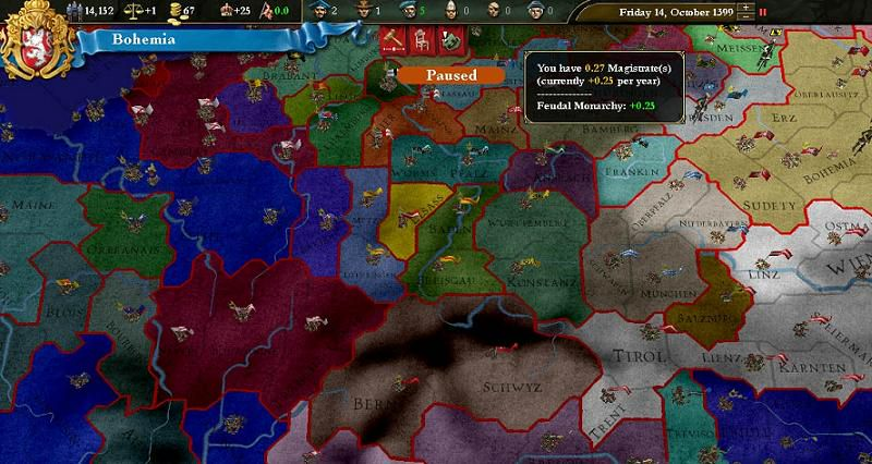 ANMELDELSE: Europa Universalis III: Heir to the Throne