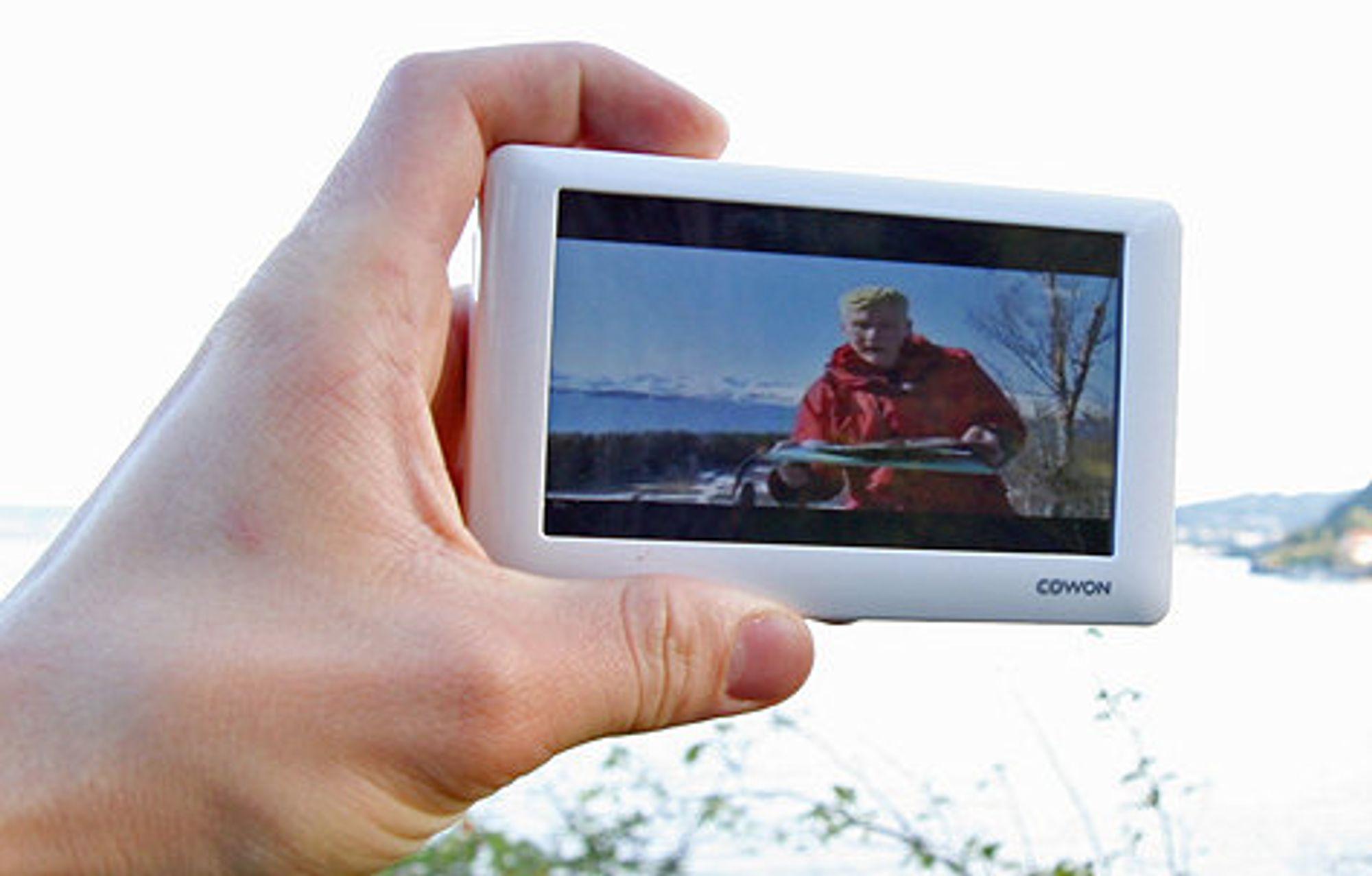 Cowon O2 har mini-TV