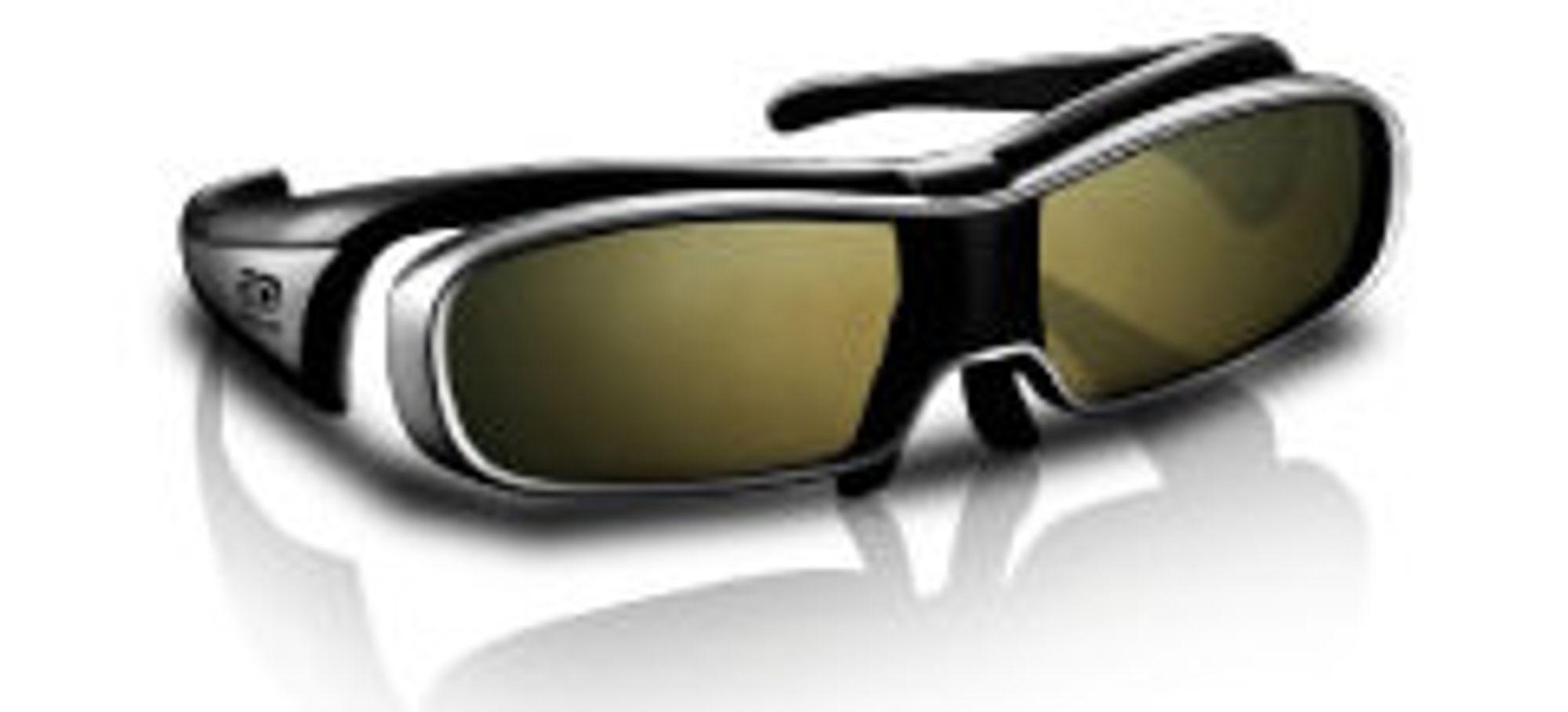 Panasonics 3D-brille