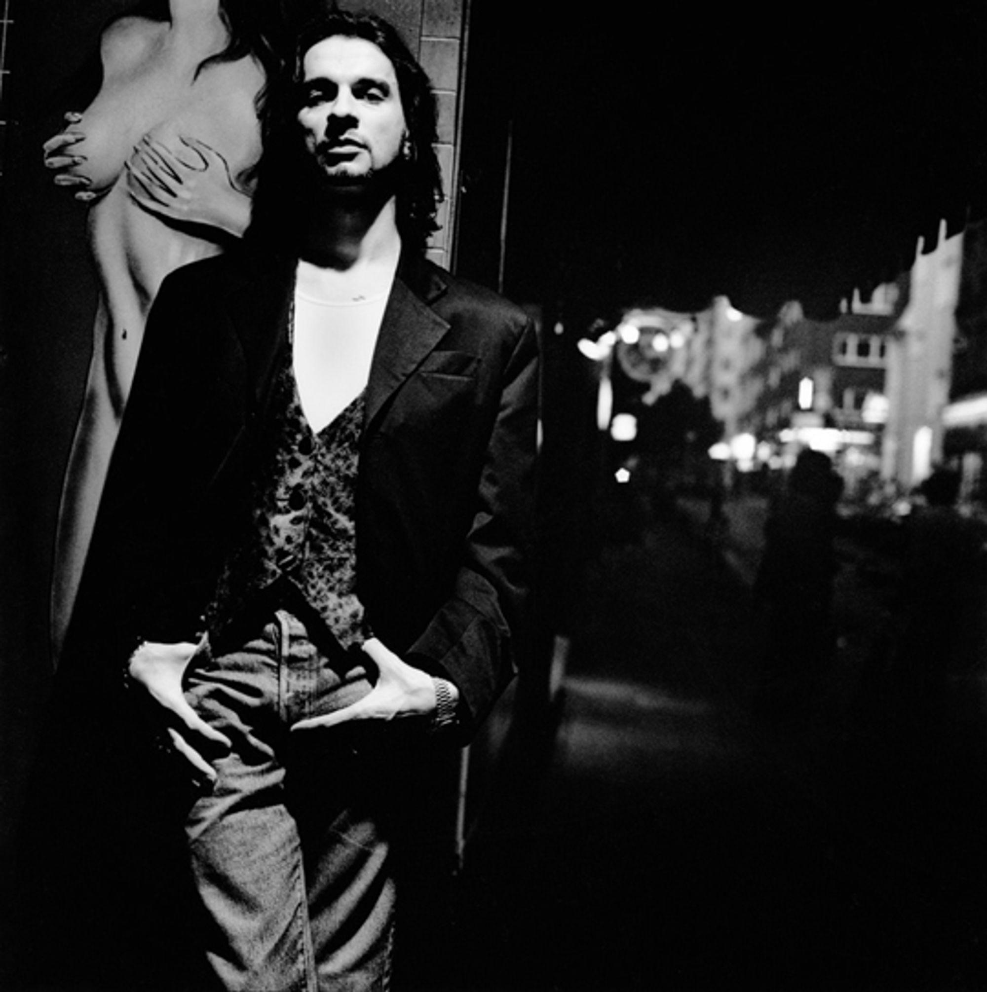 Dave Gahan, Hamburg 1993 © Anton Corbijn