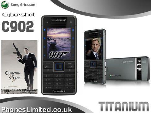 Sony Ericsson gjorde sitt ytterste for å utnytte James Bond-effekten ved markedsføringen av C902.