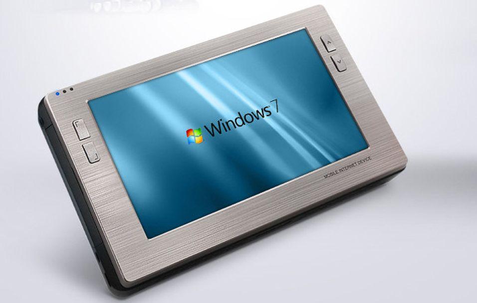 Cowon W2: Kompakt Windows 7-fjøl