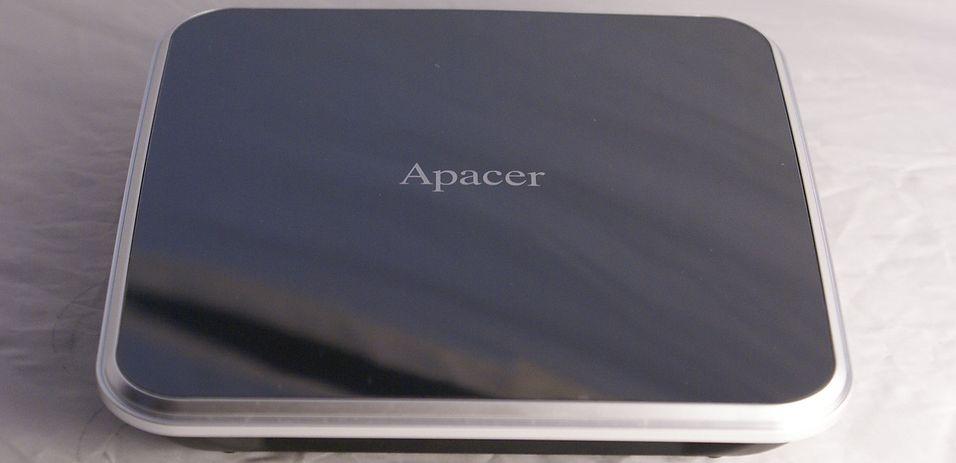 Prisgunstig nettverksmediaspiller: Apacer AL460