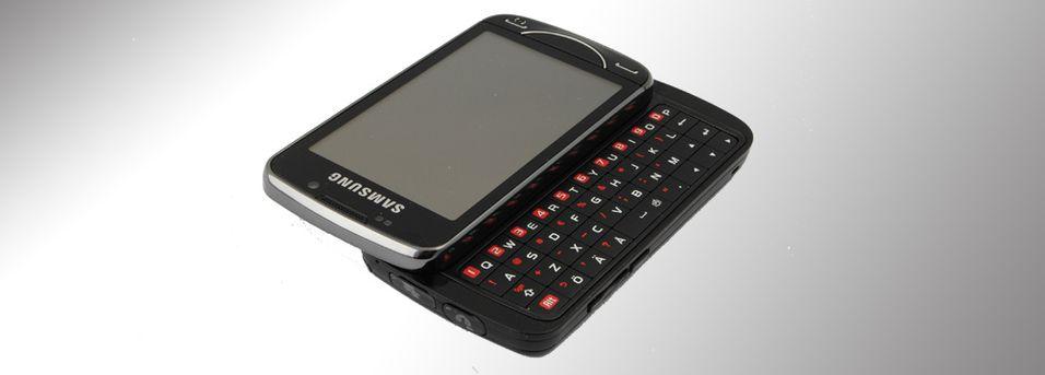 TEST: Samsung B7610 Omnia Pro