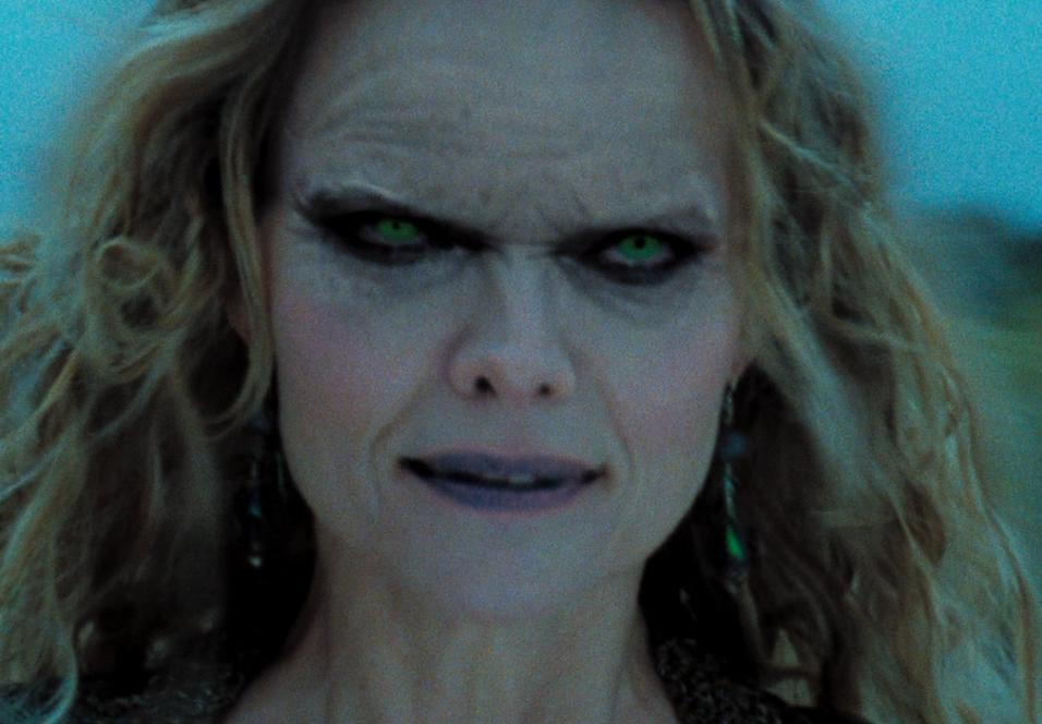 Michelle Pfeiffer som ond heks i Stardust.