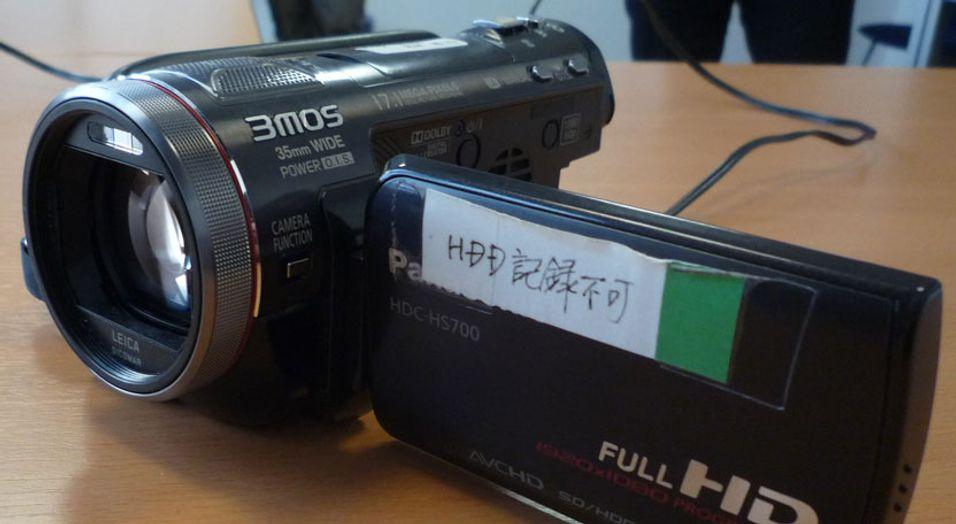 SNIKTITT: Panasonics råeste HD-kamera