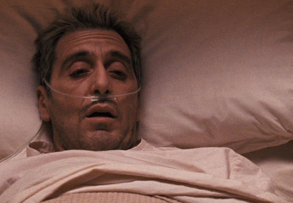 Michael Corleone symboliserer tilstanden til The Godfather: Part III.