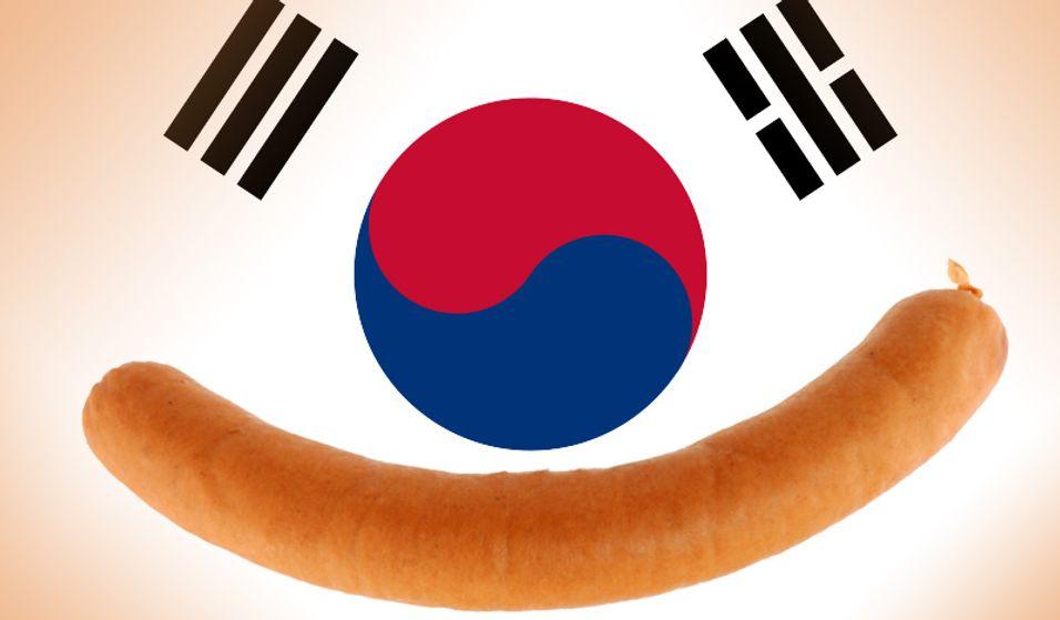 Pølsefest i Sør-Korea