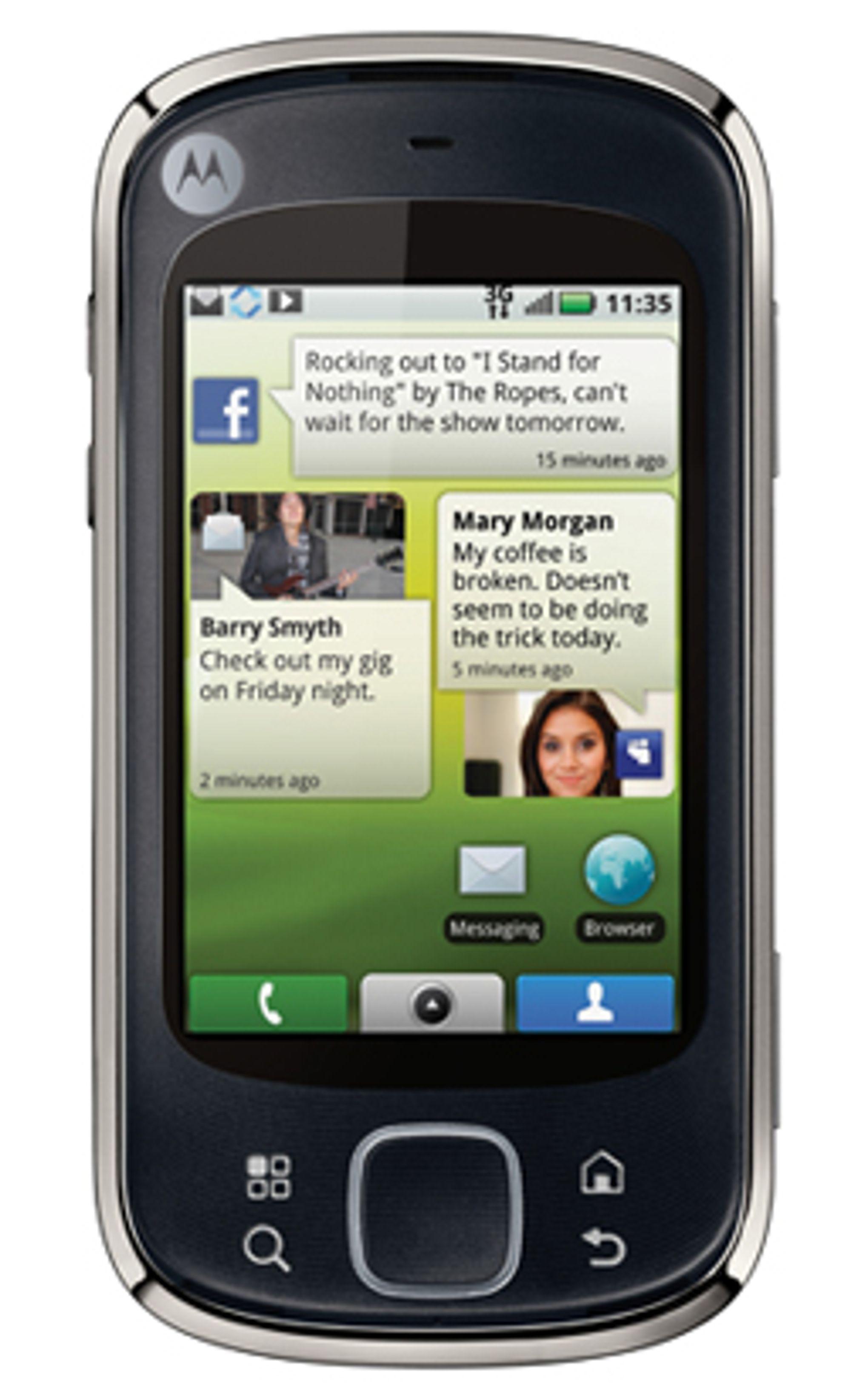 Motorola Quench. (Foto: Motorola)