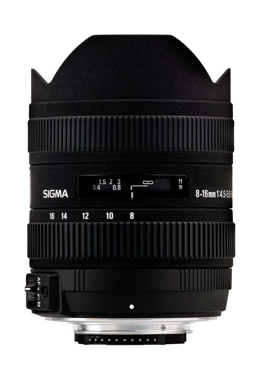 8-16mm F4.5-5-6 DC HSM for Canon.