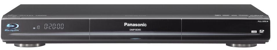 Panasonic DMP-BD85: Støtter wi-fi, men ikke 3D