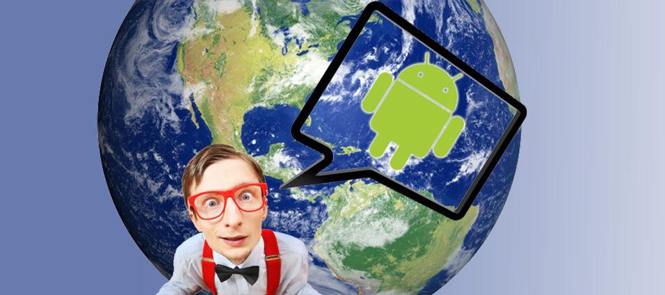 Android fikk mest blest i 2009