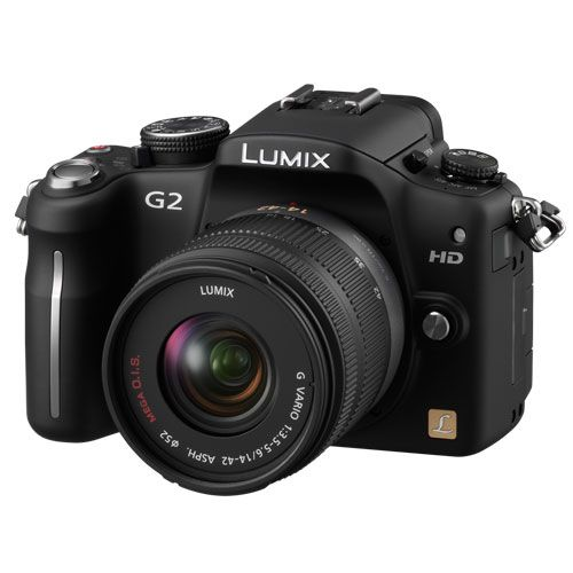Nytt kamera og nytt kit-objektiv.