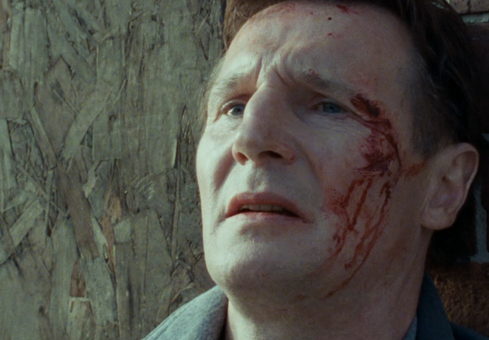 Liam Neeson som Alistair Little i Five Minutes of Heaven.