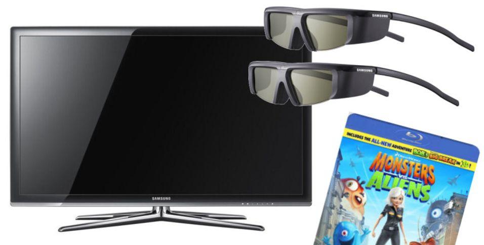 Kjøp og du skal få: Samsung lokker med to par 3D-briller og 3D-Blu-ray-film