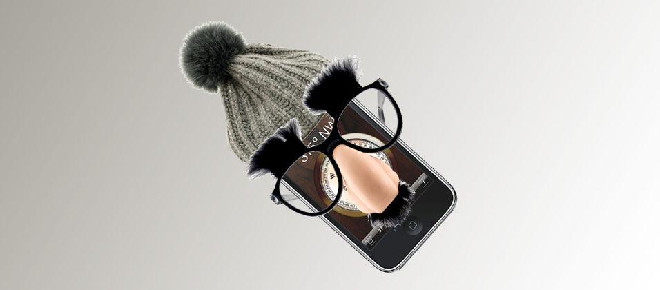En Iphone i forkledning.