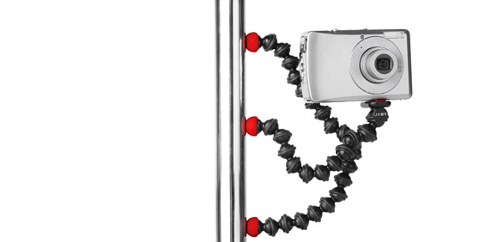 Gorillapod Magnetic muliggjør vertikal plassering av stativ. (Foto: Joby)