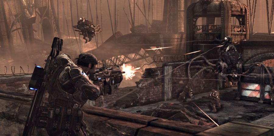 Gears of War 3 i april 2011?