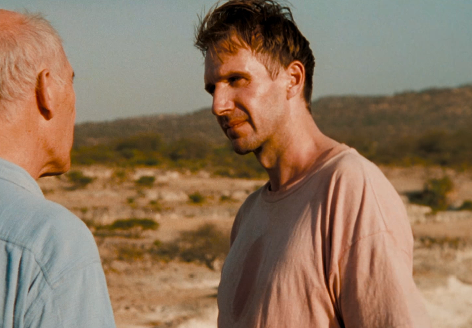 Ralph Fiennes som Justin Quayle i The Constant Gardener.