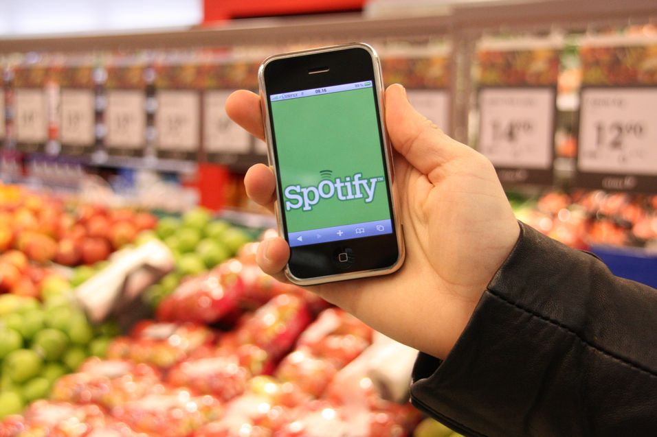 Brød, melk og Spotify